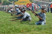 Schweiz: Freischarenmanöver 2014 in Lenzburg
