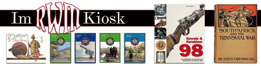 RWM-Kiosk: Fachliteratur über Waffen und Militärgeschichte